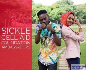 Zahra Buhari, Adekunle Gold Join the Fight Against Sickle Cell in Nigeria (Photo)